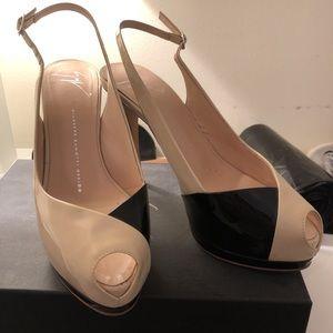 Giuseppe Zanotti designer open-toe shoes